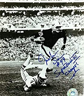 Autographed Signed Mike Siani Oakland Raiders 8x10 Photo - Certified Authentic