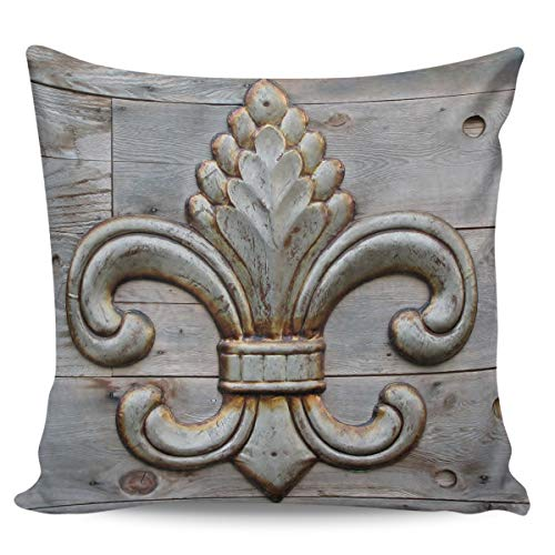 Fantasy Staring Throw Pillow Covers 20' x 20', Basque Country and Quebec Soft Short Plush Pillow Case for Couch/Sofa/Bedroom/Car