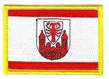 Flaggen Aufnäher Patch Cottbus Fahne Flagge