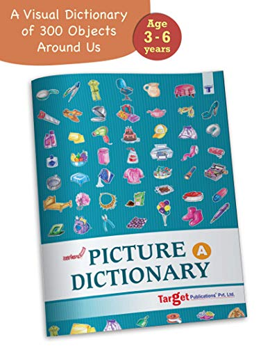 Nurture Picture Dictionary Book for Kids in English | Part A | 3 to 7 Year Old Children | Introduction to 19 Objects around us | Visual Dictionary of more than 300 Objects