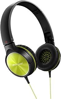 PIONEER Fully Enclosed Dynamic Headphones SE-MJ522-Y (Lime)