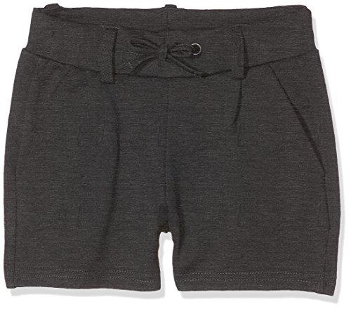 NAME IT NAME IT Mädchen NKFIDA NOOS Shorts, Grau (Dark Grey Melange), 110