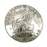 ジナブリング (JINA BRING) コンチョ 羽ばたく特大イーグル 1dollar 1$どでかいサイズのリバティーコイン コンチョ 財布 ボタン カスタム パーツ メンズ