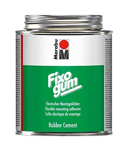 Marabu 29010051000 - Fixogum 500 g, elastischer Klebstoff für grafischen Bereich und Hobby, wieder ablösbar, säurefrei, für Papier, Kunststofffolie und andere biegsame Materialien