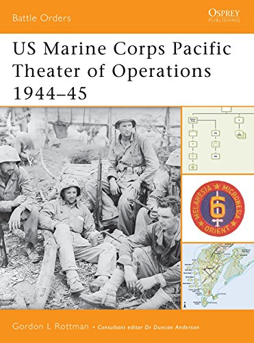 US Marine Corps Pacific Theater of Operations 1944-45 (Battle Orders)