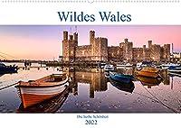 Wildes Wales (Wandkalender 2022 DIN A2 quer): Reise in eine mystische Landschaft (Monatskalender, 14 Seiten )
