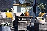 Outzone SetzDich Sitz-Gruppe Garten-möbel-Set Poly-Rattan-Lounge Lounge-Möbel Loungegruppe...