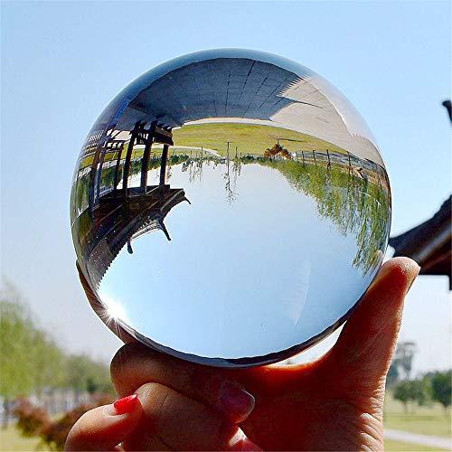 DOXMAL K9 Kristallkugel Glaskugel Fotografenqualität Glaskugeln Klarer Kristallball Künstliche Dekoration Art für Fotografie Weihnachten Geschenk (60mm)