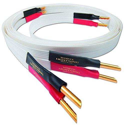 Nordost White Lightning Lautsprecherkabel | Länge: 3.0 m / Anschlussart: single-wire / Stecker: Banana