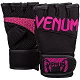 VENUM Mujeres de Aero Cuerpo Fitness Guantes, Mujer, Aero, Black/Neo Pink, L/XL