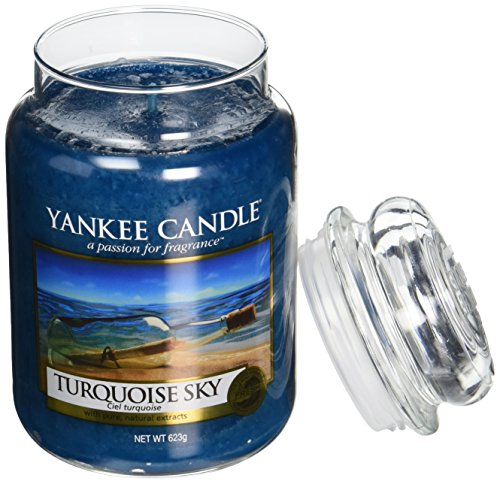 Yankee Candle Large Jar Scented Candle, Turquoise Sky, Burns up to 150 Hours, Blue