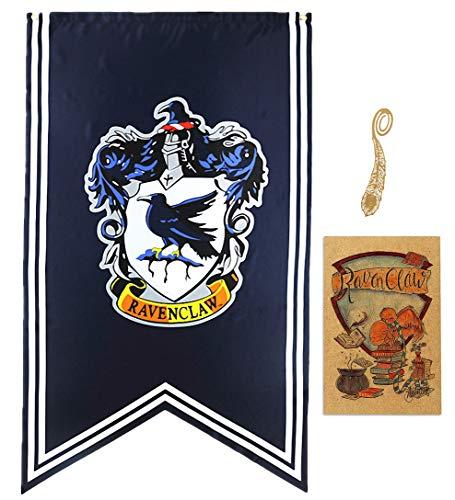 birthday decor for harry flag potter Wall Banner, gryffindor | hufflepuff | ravenclaw | Casa Slytherin bandera de decoración (70X125CM)