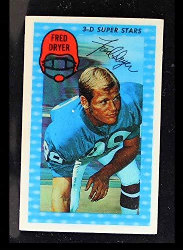 1971 Kellogg's # 12 Fred Dryer Giants-FB (Football Card) NM Giants-FB San Diego St