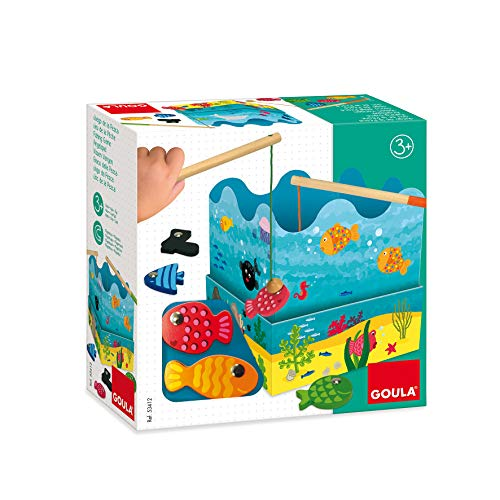 Goula D53412 Angelspiel Holzspielzeug für Kleinkinder, Ab 3 Jahren