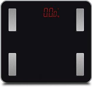 Básculas Digitales De Baño Básculas De Grasa Corporal Bluetooth 330Lb Báscula De Baño Digital Inteligente Para El Peso Analizador De Composición Corporal Para La Aplicación De Android Ios