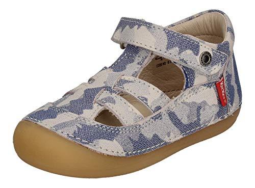 Kickers - Babyschuhe SUSHY 784841-10-51 bleu Camouflage, Größe:23 EU