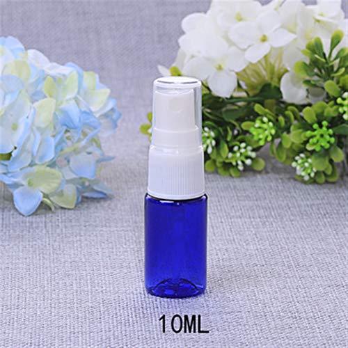 JSJJAUJ Botella de envase cosmético Nuevo 30 unids 10 ml de plástico Transparente Botellas de Perfume Flexible atomizador Mascota vacío contenedor cosmético Viaje Maquillaje Muestra Viales