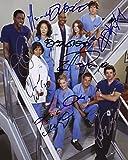 Greys Anatomy Signiert Autogramme 25cm x 20cm Foto