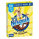 Nesquik Chocolatey Cereal, 600 Gram {Imported from Canada}