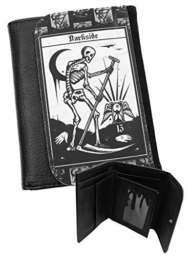 Darkside Geldbeutel mit Tarotkarte