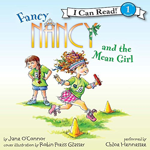Fancy Nancy and the Mean Girl audiobook cover art
