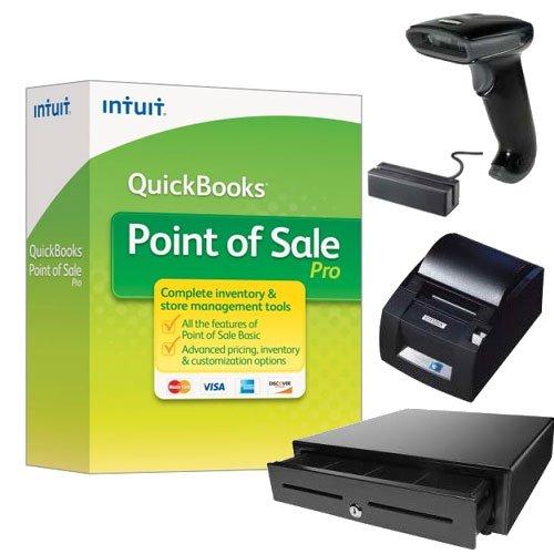 Price comparison product image QuickBooks Desktop Point of Sale 18.0 Pro New User w / Hardware