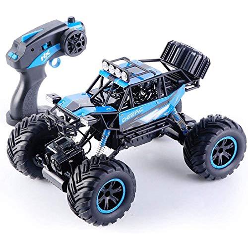 ZHANG 1/16 Modelo de Control Remoto Coche 2.4G Recargable RC Coche 4WD Off-road RC Camión Bigfoot Monstruo Escalada RC Vehículo de Aleación