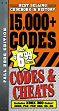 Codes & Cheats Fall 2006 Edition: Over 15,000 Secret Codes (Codes & Cheats: Prima Official Game Guide)