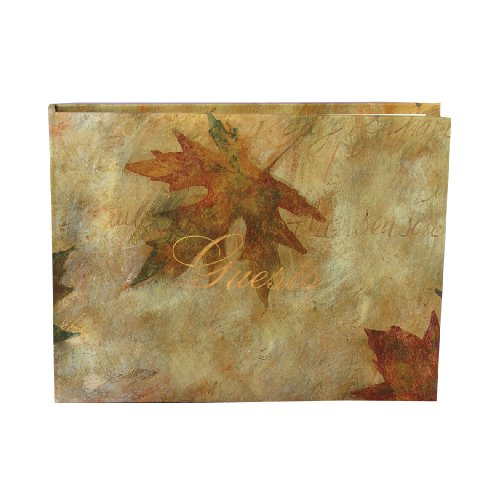 Hortense B. Hewitt Wedding Accessories Maple Leaf Guest Book