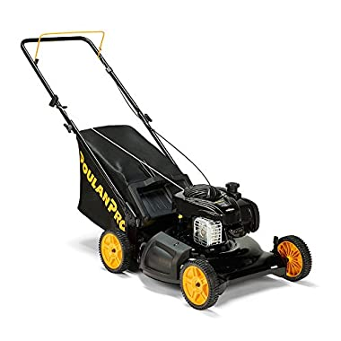 "Poulan Pro 961320101 PR550N21R3 Briggs 550 E Series Side Discharge/Mulch/Bag 3-in-1 Push Lawn Mower with 21"" Deck"