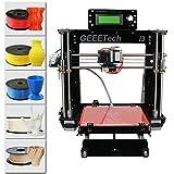 3D-Drucker, WER Acrylic I3 Pro B 3D Drucker, DIY Drucker Kit Set( Unterstützt 5 Werkstoffe ABS / PLA / Flexible PLA / Holz / Nylon)