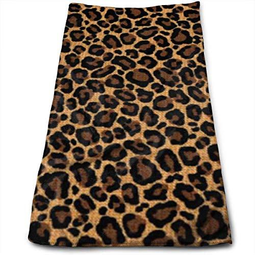 huibe Toallas de baño de Piel de Leopardo para baño-Hotel-