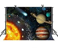 fuermor 10x 7ft Amazing Universe Planet写真バックドロップスタジオ小道具写真背景nanfu290