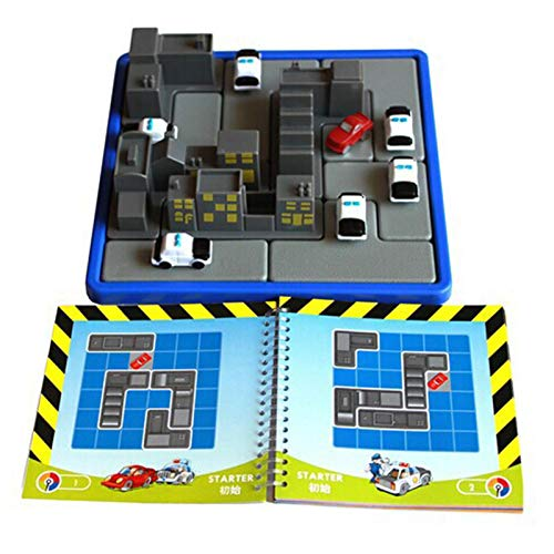 Emocionante juguete de intercepción para niños Rompecabezas Juegos de rompecabezas Rush Hour...