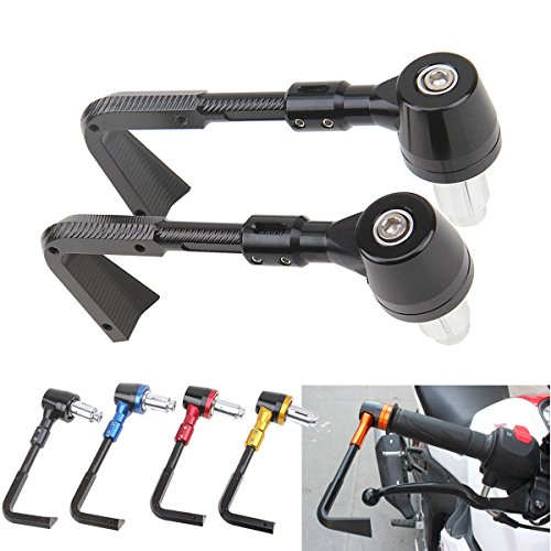 Anay - Protector universal para manillar de motocicleta, 22 mm, sistema Proguard, para palanca de freno, palanca de embrague y manos, para Yamaha y Honda Lmodri