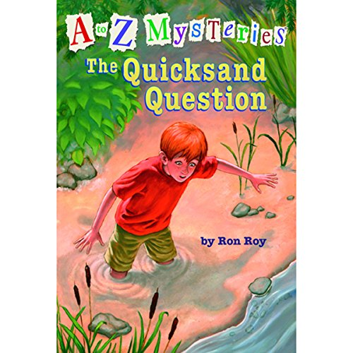 A to Z Mysteries #17: The Quicksand Question cover art