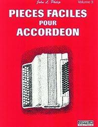 Partition: Accordéon vol. 3 pièces faciles