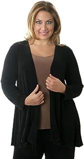 Women's Plus Size Swing Cardigan Jacket