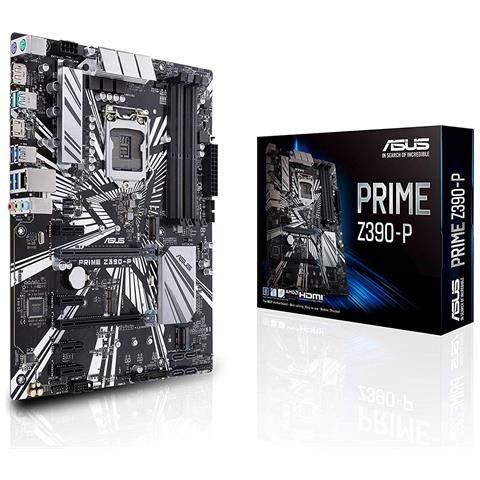 ASUS - Scheda Madre Prime Z390-P Socket 1151 Chipset Z390 ATX