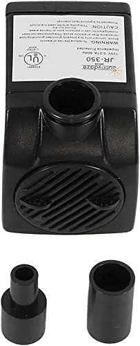 2021 Sunnydaze Submersible Water Fountain sale Pump Indoor or Outdoor Use outlet online sale for Small Fountains Hydroponics Aquaponics 2 Nozzles 120 Volts 93 GPH outlet sale