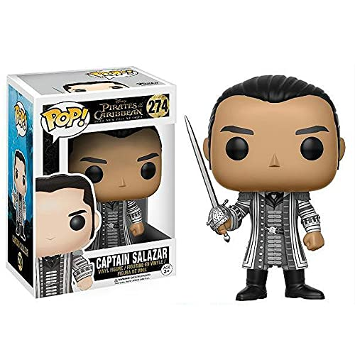 Funko Pop Movie Pirates of The Caribbean Captain Salazar Figure Collectible Toy Boy's Toy