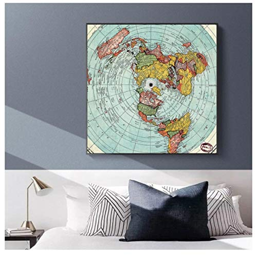 mapa tierra plana fabricante DrCor