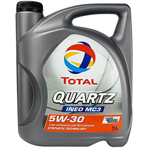 Total 183119 Quartz Ineo MC3 5W30 Lubricante, 5 l
