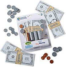 Learning Resources Pretend & Play, Play Money for Kids, Counting, Math, Currency, 150 Pieces, Ages 3+