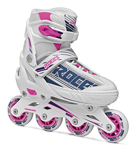 Roces Mädchen Inline-Skates Jokey 1.0 Kinder, White-Purple-pink, 38-41