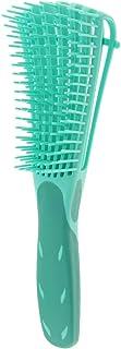 Salong hår vågig lockig antistatisk frisör hårborste massageborste för huvudmassage – grön