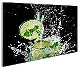 islandburner Bild Bilder auf Leinwand Mojito Cocktail