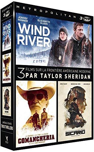 Locandina Coffret taylor sheridan 3 films : wind river ; comancheria ; sicario