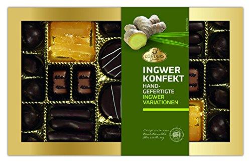 Lühders Ingwer-Konfekt, Ingwer Marzipan Pralinen, 250g