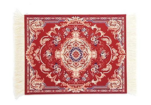 Magic Carpet Mouse Pad, Persian Rug Mousepad Durable Non-Slip Rubber...